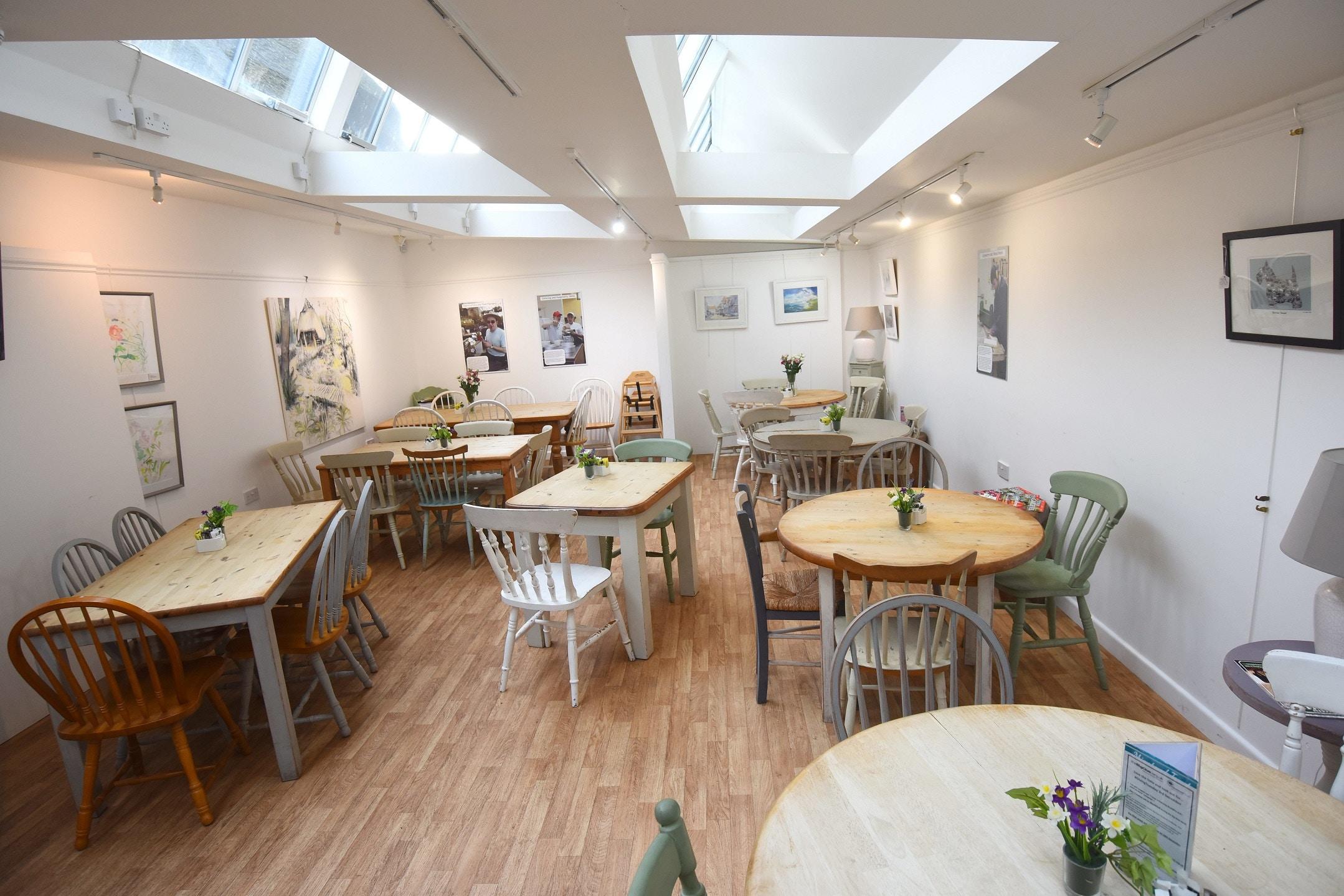 Furzey tea rooms interior